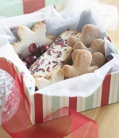 Scatola con i biscotti di Natale Xmas, Christmas, Bakery, Waiting, Breakfast, Food, Morning Coffee, Essen, Navidad