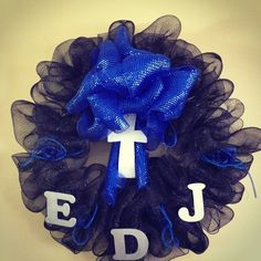 My wreath I made for a gravesite. -Tamra #lovemystyleboutique