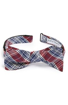 Men's John W. Nordstrom Silk Bow Tie - Red