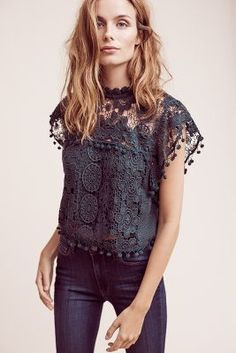 Anthropologie Cropped Guerie Shell XS $158.00