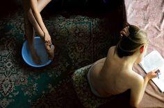 Group Exhibition - F-Stop Magazine /Igor Chekachkov (Kharkiv, Ukraine) - Daily Lives series Designer Comforter Sets, Camera Life, Ballet Shoes, Dance Shoes, F Stop, Still Life Photos, Film Inspiration, Contemporary Photography, Look At You