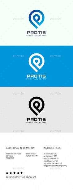 #Protis #Logo - #Abstract Logo Templates