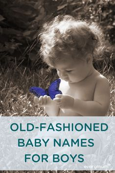 Old-fashioned or vintage baby names for boys are a wonderful way to honour the past while being right on trend. Here are some of the best old-fashioned names for boys - sure to stand the test of time. Vintage Baby Names, Vintage Baby Boys, Unique Baby Names, Celtic Baby Names, Irish Baby Names, Baby Tips, Baby Hacks, Old Fashioned Baby Names, Old Boy Names