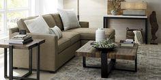 Davis Living Room - Crate&Barrel