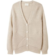 Girl by Band of Outsiders Diamond Cardigan ($335) ❤ liked on Polyvore
