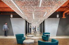 Arktura Panels and Orange Ceilings! Solomon Cordwell Buenz #scb