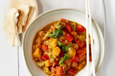 Sweet Chunky Chicken Curry