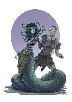 Medusa , Daniele Scali on ArtStation at https://www.artstation.com/artwork/lQr8Y