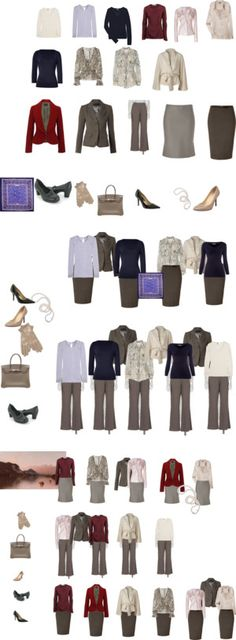 """Capsule Wardrobe AW 2011-2"" by enmnm ❤ liked on Polyvore"