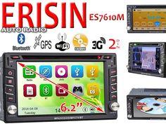 Autoradio 2Din Erisin ES7610M DVD wifi 3G Gps y Bluetooth