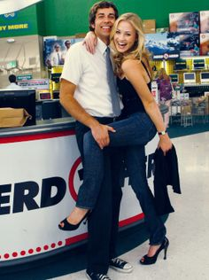 Chuck & Sarah Oh my goooossshhh, you NEVER find ANYTHING chuck-related on pinterest.