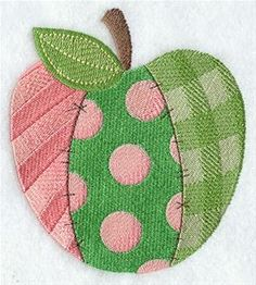 Machine Embroidery Designs at Embroidery Library! - Patchwork Scenery
