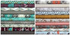 INDELIBLE fat quarter bundle20 pieces5 by freshsqueezedfabrics