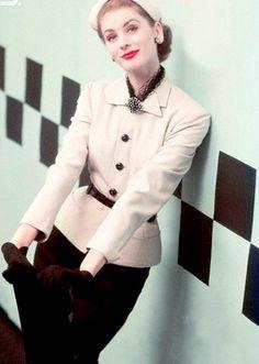Suzy Parker 1952 by Richard Rutledge
