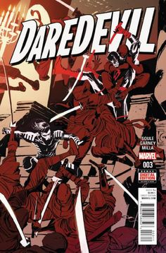 *High Grade* (W) Charles Soule (A/CA) Ron Garney Back in black and on his home turf, Daredevil begins again in New York City as a new enemy emerges. Meanwhile his alter ego, Matt Murdock, is on a new