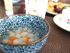 vegetable and Life Ocean Salt make delicious soup, you don't need any bouillon!