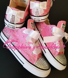 Baby Pink Converse Toddler Converse Girls Pearl Converse Customised Kids  Converse Flower Girl Child Converse Infant Converse cbe1f1917f71d