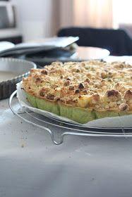 Cinnamon And Cake : Tarte verte ou la tarte poire matcha pistache
