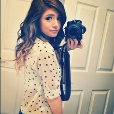 Chrissy Costanza from Against the Current NY. Ahhh, she's so cute & an amazing singer! <3