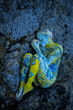 Bodypainting That Speaks About Human And Nature Relationship By Artist Vilija Vitkute | Bored Panda