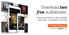 Try Audible and Get Two Free Audiobooks!  ➩➩ ➩ ➩      http://amzn.to/2pQdjHO