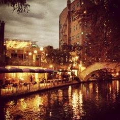 Nothing beats the Riverwalk at night. Eat some good Tex-Mex, then take the boat ride through the Tunnel of Love and people watch. <3