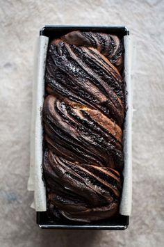 Sourdough chocolate babka