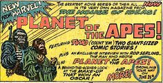 Planet of the apes 1968.