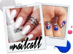 Tuesday's #NailCall: Black, White, and Everything In Between | Beauty High