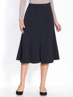Essential Tailoring Flared Hem Skirt at Daxon