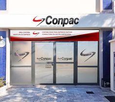 Cliente Conpac. Mockup fachada adesivada.
