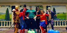 Super Staff at Cape Codder Resort Super Hero Weekend