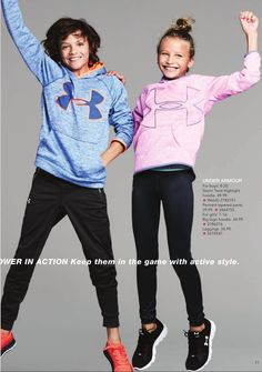 Carter for Macy's #GOYOU campaign wearing Under Armour winter 2017
