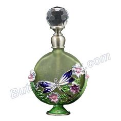 purple perfume bottles | Purple Dragonfly Perfume Bottle