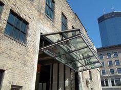 glass garage door restaurant - Google Search