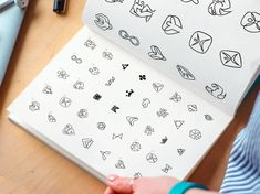 Wellest – Low Fidelity Sketches by Ramotion on Dribbble Design Thinking, Motion Design, Steve Wolf, Brand Identity, Branding, Logo Sketches, Great Logos, Screwed Up, Logo Concept