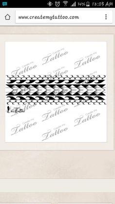 New Tattoo, Maori armband