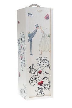 pudełko na wino decoupage ślub - Szukaj w Google