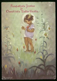 MARTTA WENDELIN Old Ones, Martini, Finland, Christmas Cards, Children, Artwork, Art Ideas, Prints, Painting