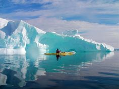 Most of Antarctica is covered in ice: less than 1% is permanently ice-free.