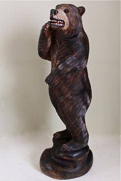 carved bear
