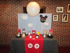 Mickey Mouse Clubhouse Birthday Party Candy Bar by SILLY FISH PARTIES