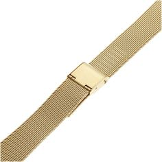 Amazon.com: Hadley Roma MB3805Y 18-22mm Squeeze End Gold Tone Mens Watch Band Thin Mesh: Hadley Roma: Watches