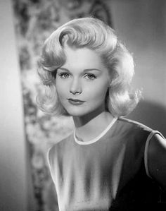 Carol Lynley 60s hairstyle. LOVE!! Might go shorter to get this look :>