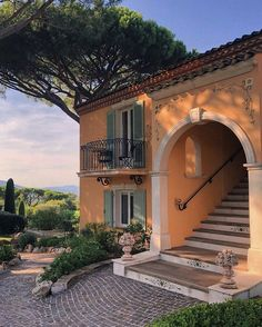 Saint Tropez, Future House, Exterior Design, Interior And Exterior, Spanish House, Pool Designs, My Dream Home, Dream Life, Hotels And Resorts