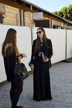black on black on black. Tel Aviv
