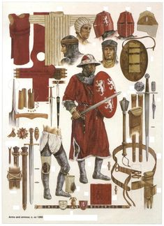 Kingdom Of Jerusalem Soldiers' Equipment 1285