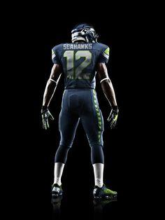 Seahawks' new jerseys...love them