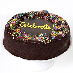 Chocolate Fudge Cake - Cake Delivery - Cakes for Occasions Chocolate Deserts, Chocolate Wine, Chocolate Fudge Cake, Delicious Chocolate, Birthday Cake Delivery, Davids Cookies, Gourmet Cakes, Cake Online, Pastry Cake