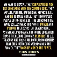 Time and time again deregulation has been shown to help only corporations and…